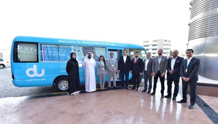 دو تطلق أول مركز متنقل للأعمال على مستوى دولة الإمارات