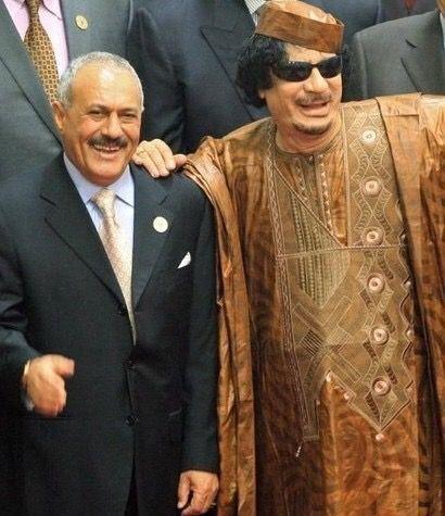 عبد الله صالح.. يلقى حتفه على طريقة القذافي