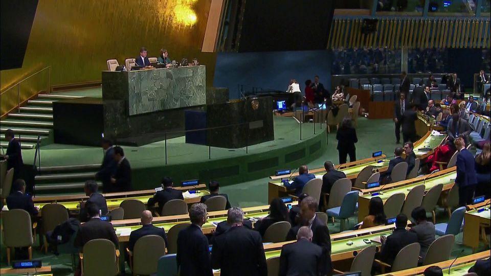 128 دولة بما فيها كل الدول العربية تصوت ضد قرار ترامب جعل القدس عاصمة لكيان اسرائيل