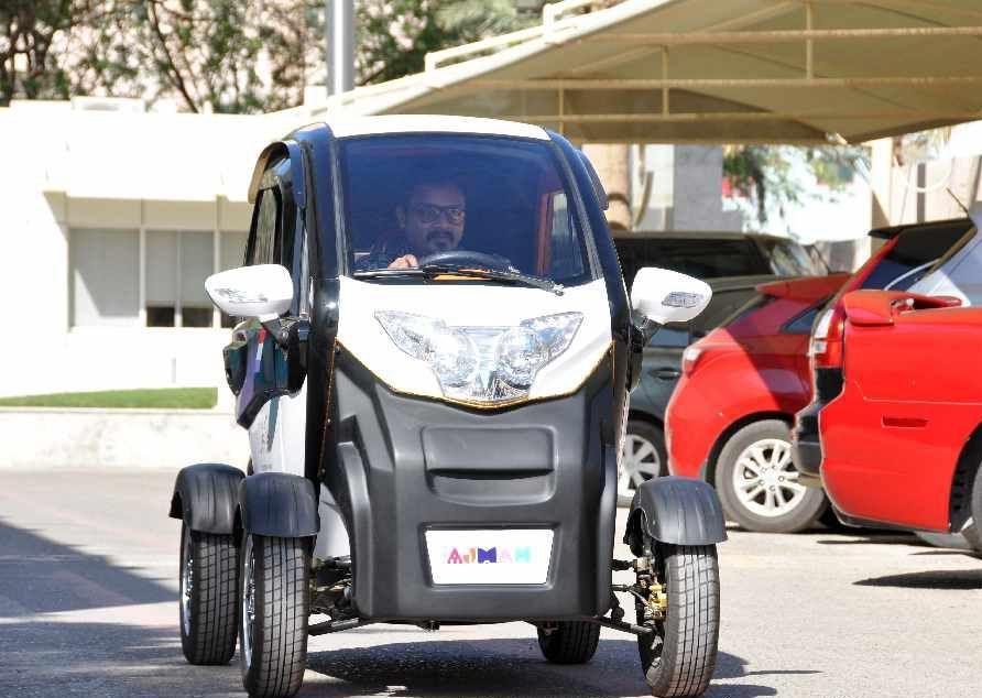 مركبات صديقة للبيئة في الأماكن السياحية بعجمان