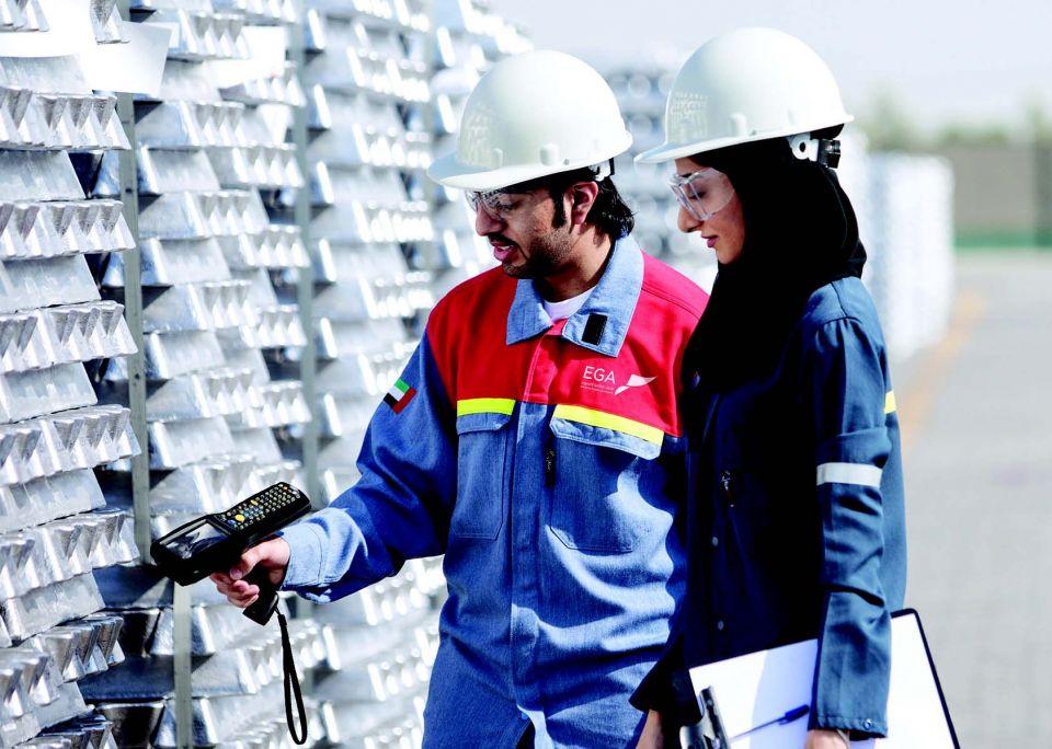 37 % نسبة التوطين في شركة الإمارات العالمية للألمنيوم