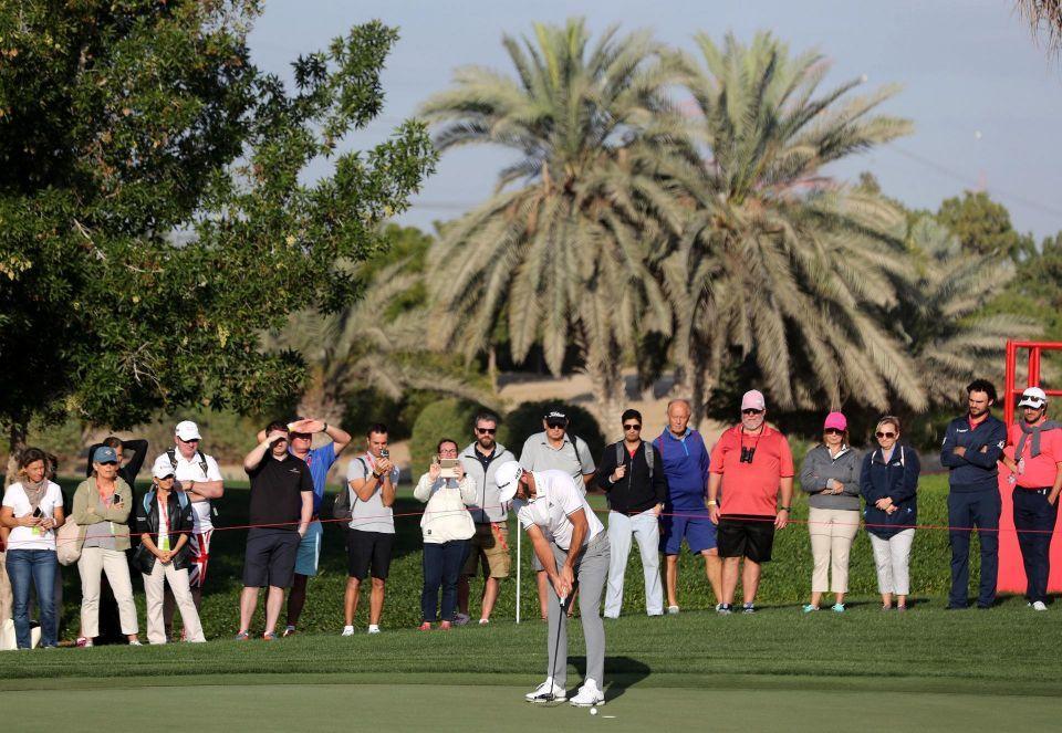 نخبة نجوم الرياضة في بطولة أبوظبي الدولية للجولف