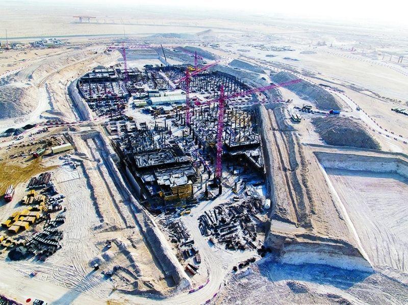 إكسبو 2020 دبي  يرسي مشروعين بـ 670 مليون درهم على لينغ أورورك