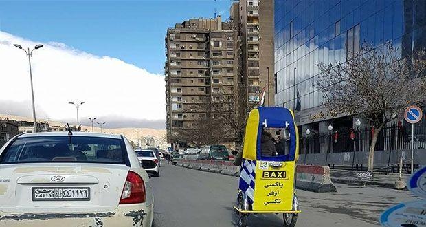 انتشار صور لمركبات كهربائية في شوارع دمشق