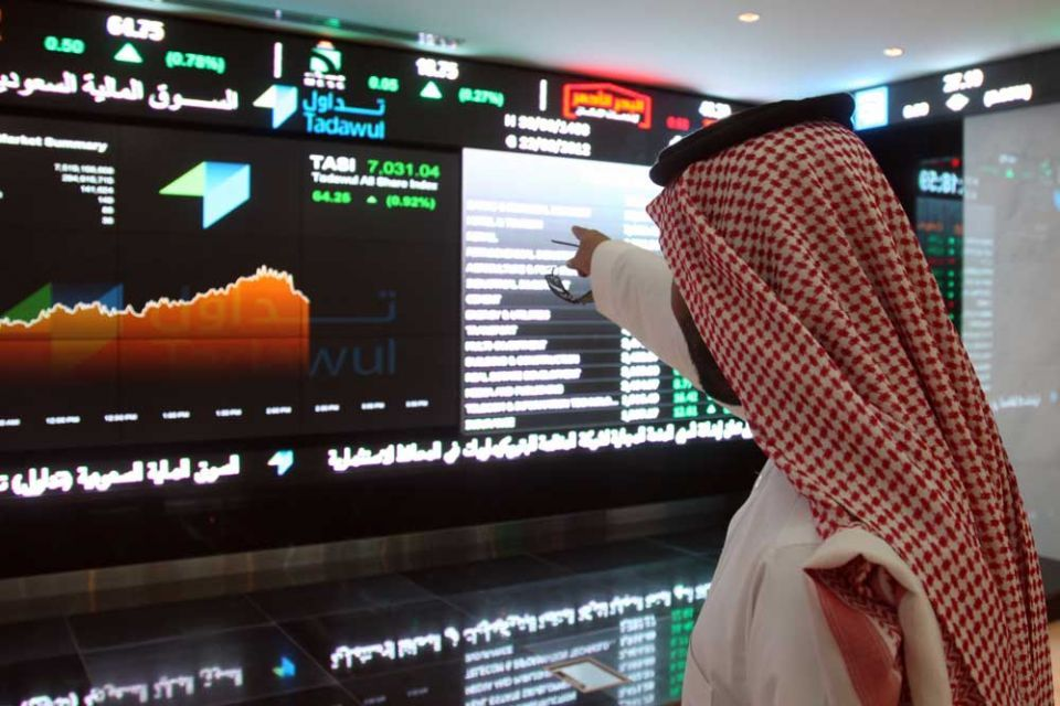 البورصة السعودية ترتفع مدعومة بقطاع الأسمنت، وأسواق رئيسية أخرى تهبط