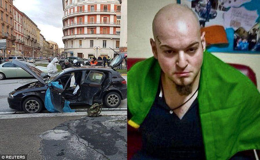 اعتقال رجل إيطالي بعد إطلاقه النار على مهاجرين أفارقة
