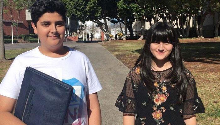 شاهد بداية السنة الجامعية لطفلين إماراتيين في جامعة أمريكية