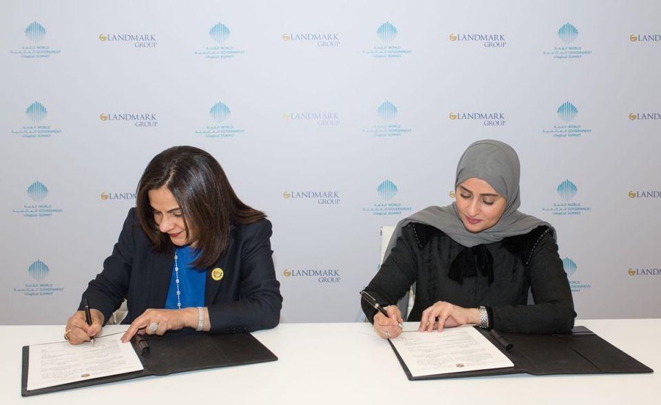 للعام الثاني... مجموعة لاندمارك شريكا حصريا للحوار العالمي للسعادة بالإمارات