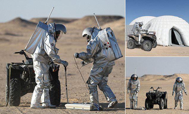 انطلاق تجارب على غزو المريخ بصحراء عُمان
