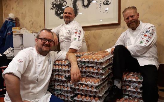 وصول 15000 بيضة بالخطأ للبعثة النرويجية في كوريا بسبب ترجمة غوغل