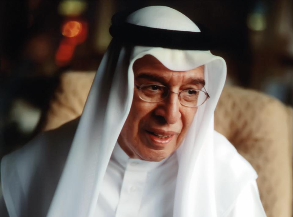 وفاة مبارك جاسم كانو  أحد أهم رجال الأعمال البحرينيين