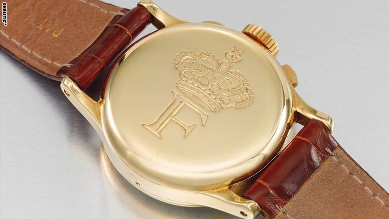 للبيع في دبي.. ساعة شخصية للملك فاروق الأول!