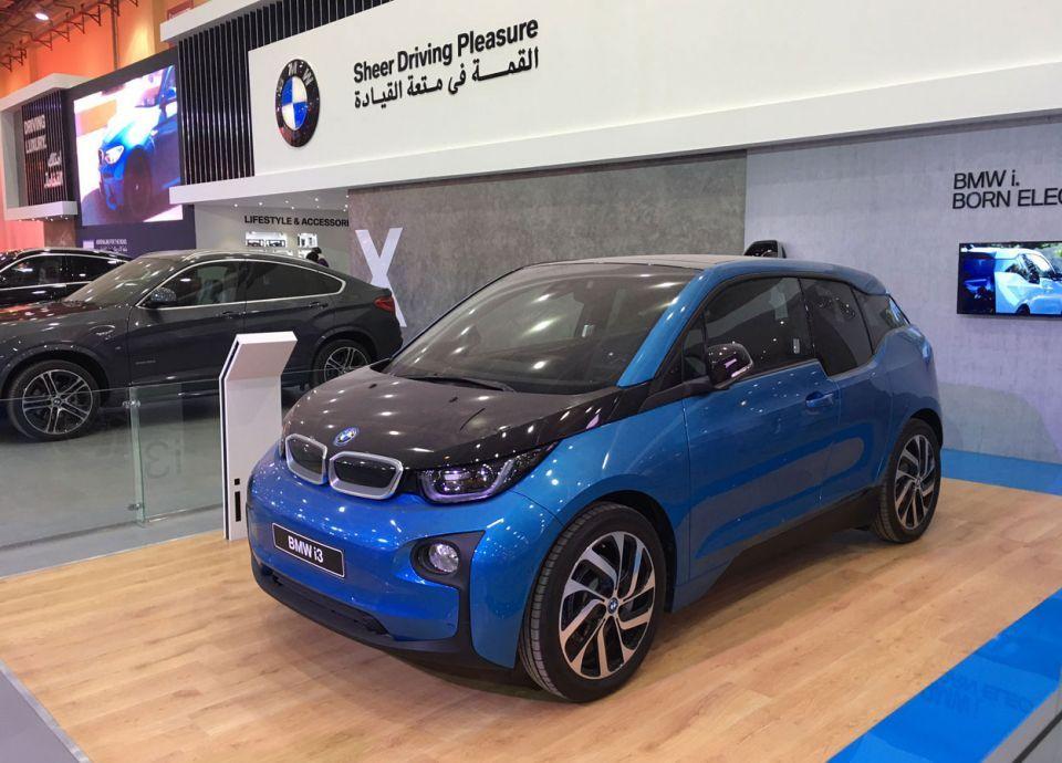 دخول أول سيارات كهربائية إلى السعودية
