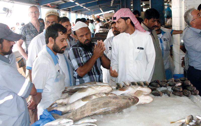 وقف صيد وتسويق أسماك الشعري والصافي في الإمارات خلال مارس وأبريل