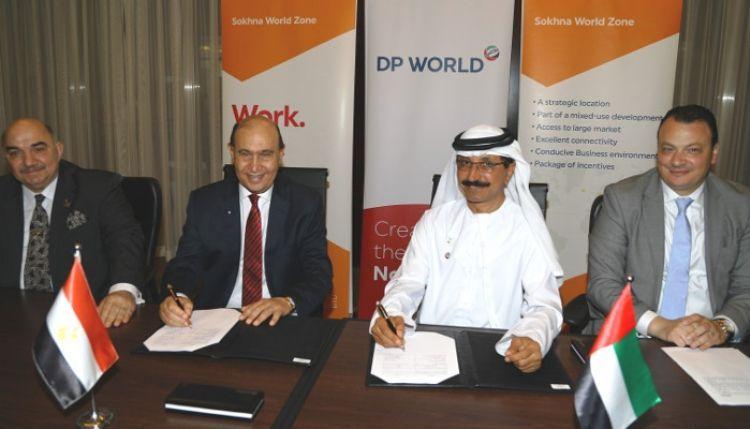 موانئ دبي العالمية تقيم أضخم منطقة اقتصادية في العين السخنة بمصر