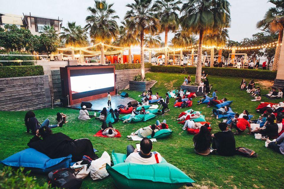 فعاليات في الهواء الطلق  في مهرجان دبي للمأكولات 2018