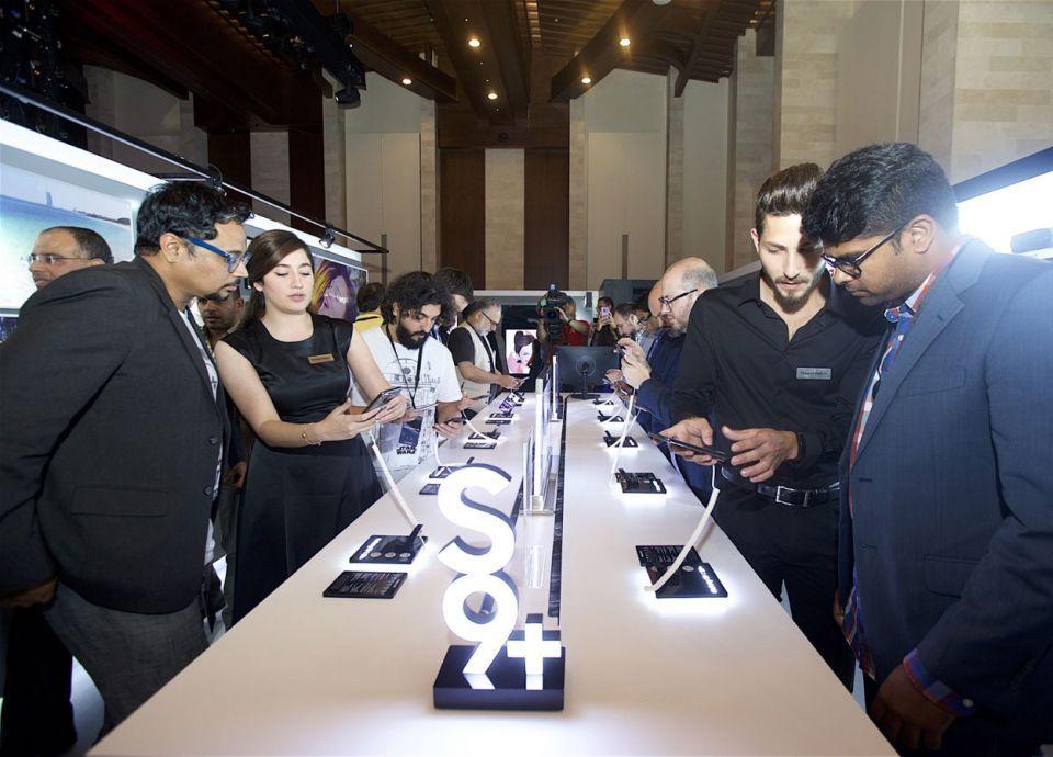 سامسونج تكشف أحدث أيقوناتها في عالم الهواتف الذكية S9+ وS9Galaxy في الإمارات