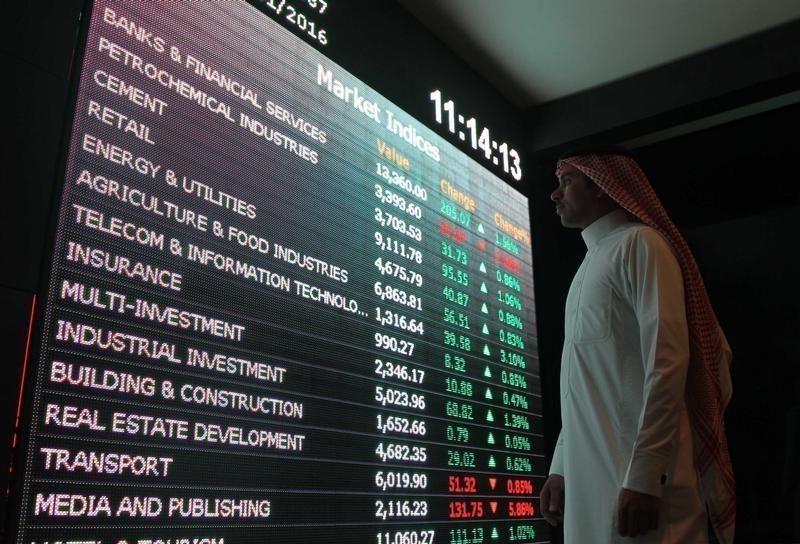 البورصة السعودية ترتفع بدعم من البنوك وتدفقات أجنبية