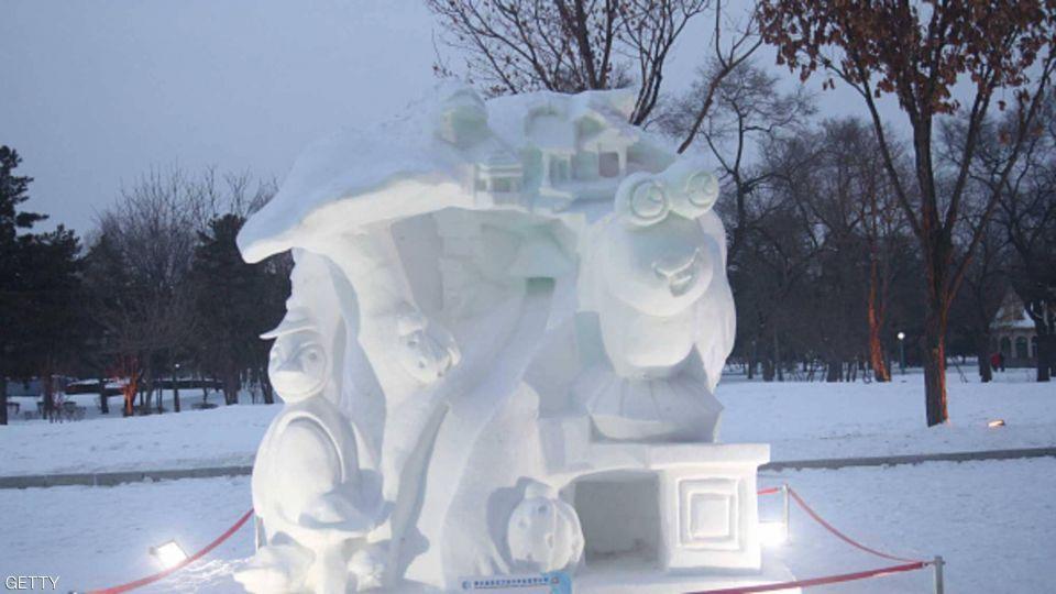 فنون من الثلج