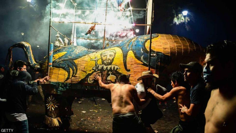 من أخطر المهرجانات بالمكسيك