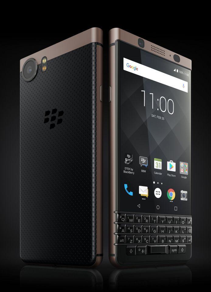 جديد التقنية: هاتف «بلاك بيري كي ون» بالنسخة البرونزية