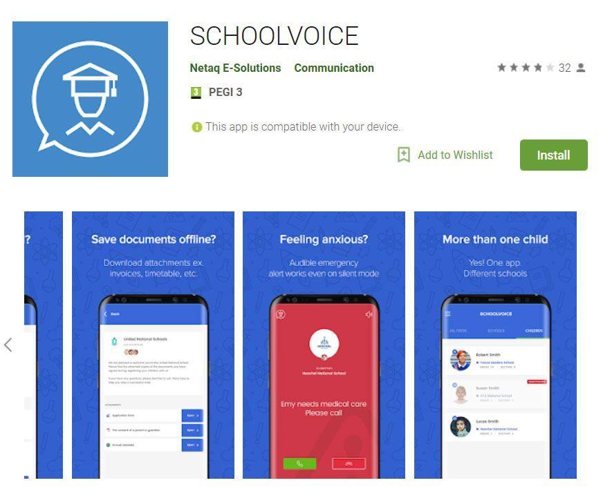 سكول فويس ، تطبيق جديد يؤمن نافذة رقمية على حياة الطالب التعليمية