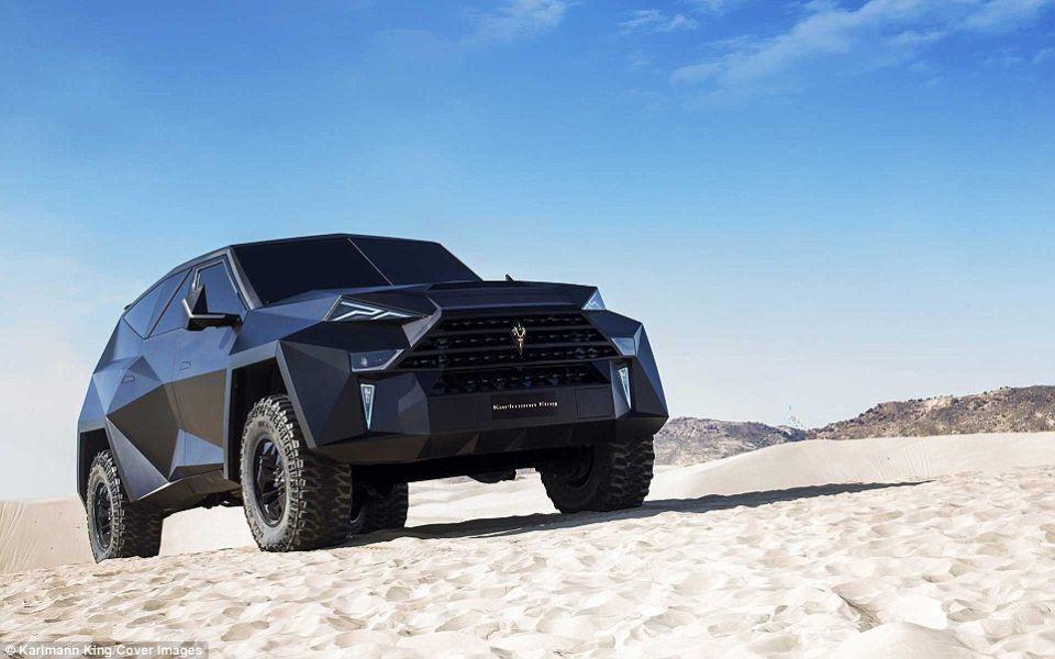 سيارة Karlmann King الصينية أغلى سيارة SUV في العالم