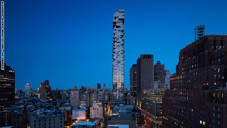 """تعرف على ناطحات السحب """"النحيلة"""" في نيويورك"""