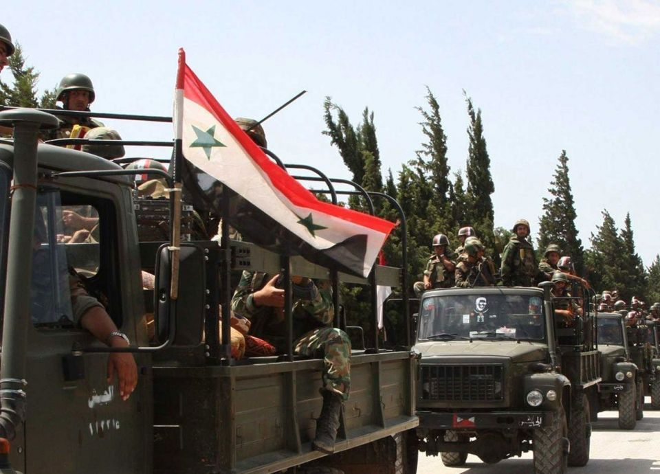 تسريح الدورة ١٠٢ في الجيش السوري ، فهل وضعت الحرب أوزارها؟