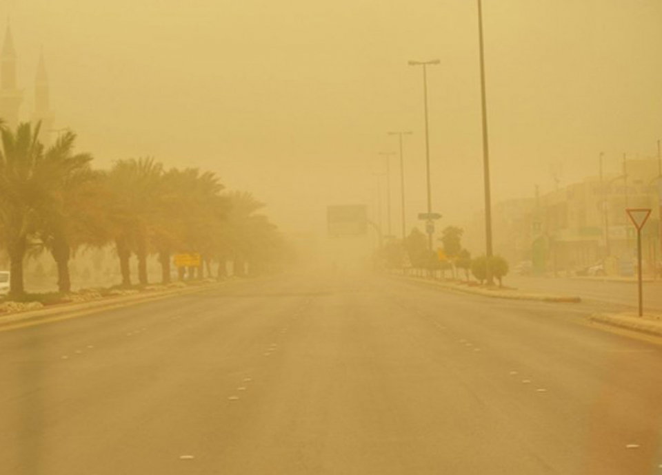 الأرصاد: غبار في المدينة ورياح في المنطقة الشمالية