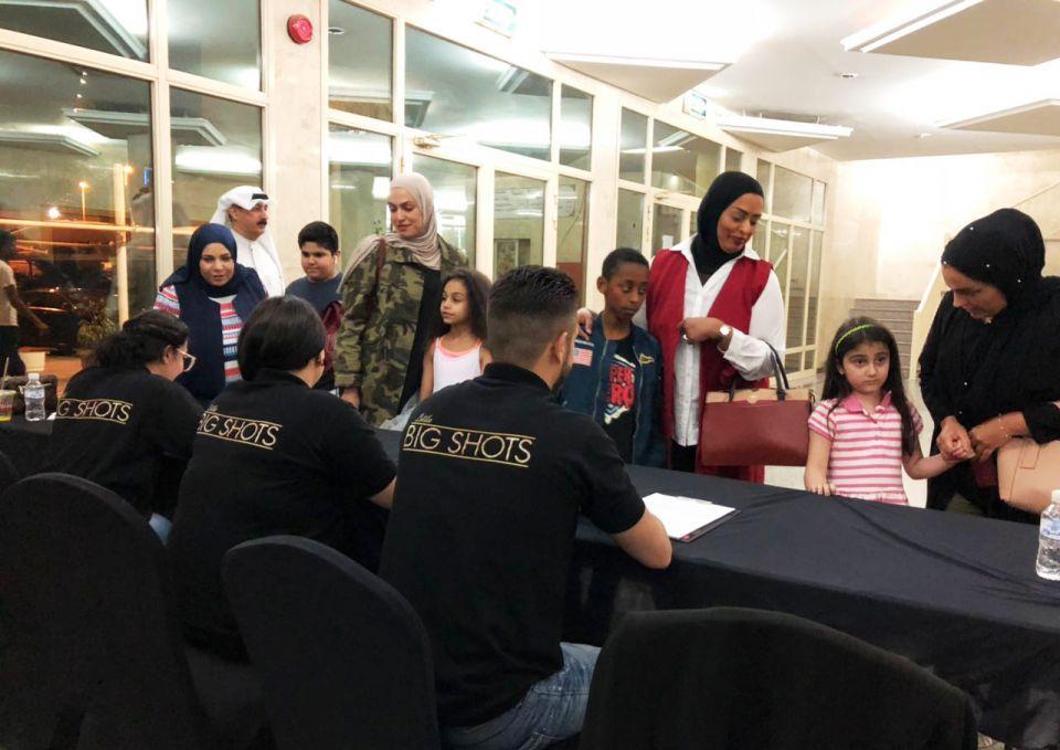 مئات الأطفال تقدموا لتجارب أداء البرنامج Little Big Shots بصيغته العربية في الكويت والمحطة التالية دبي