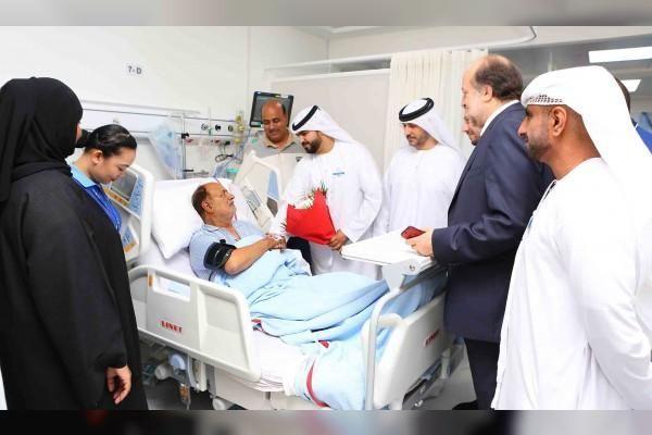 مسافر: شكرا مطارات دبي لقد أنقذتم حياتي