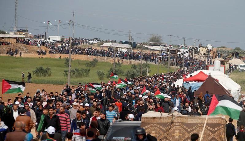 في يوم الأرض ....قتلى وجرحى وسلاح إسرائيلي جديد ضد المتظاهرين