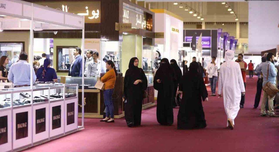 500 شركة وعلامة تجارية في معرض الساعات والمجوهرات بالشارقة