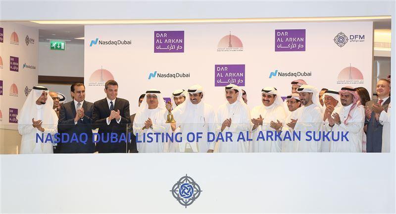 دار الأركان السعودية تدرج صكوكا بـ 500 مليون دولار في ناسداك دبي
