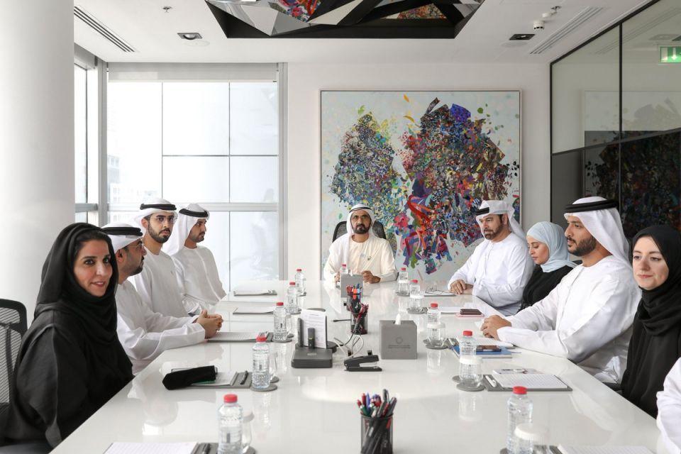 محمد بن راشد يطلق استراتيجية الإمارات للتعاملات الرقمية بلوك تشين