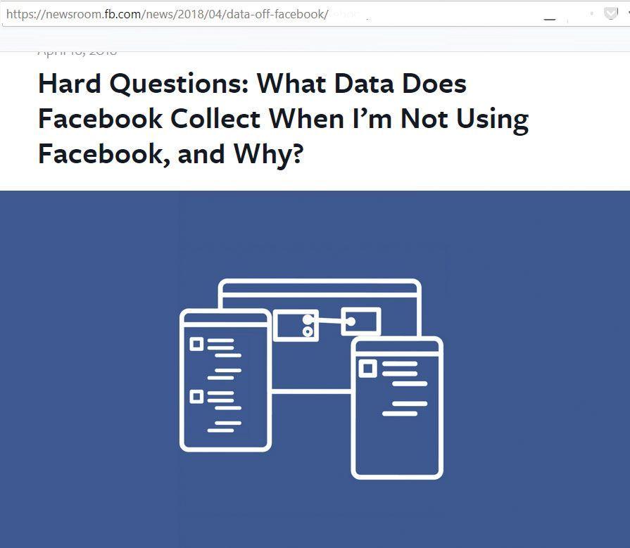 فيسبوك تعترف بتعقب من لا يملكون حساب فيها