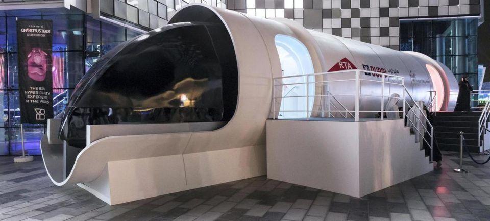 """بالصور: هذه هي رؤية """"بي إم دبليو"""" لكبسولة """"هايبرلوب"""" للمسافرين"""