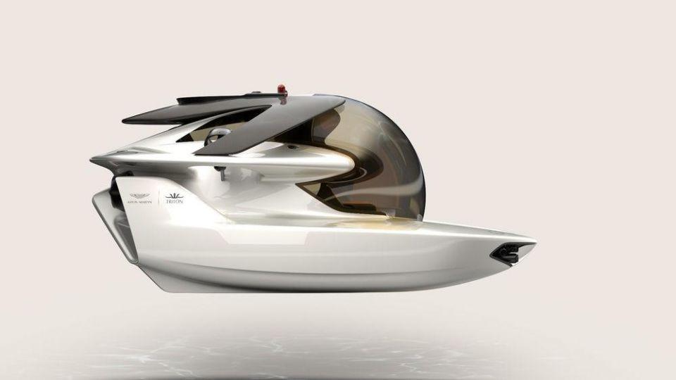 """بالصور: """"أستون مارتن"""" تصمم غواصة ذات أناقة وجودة عالية"""