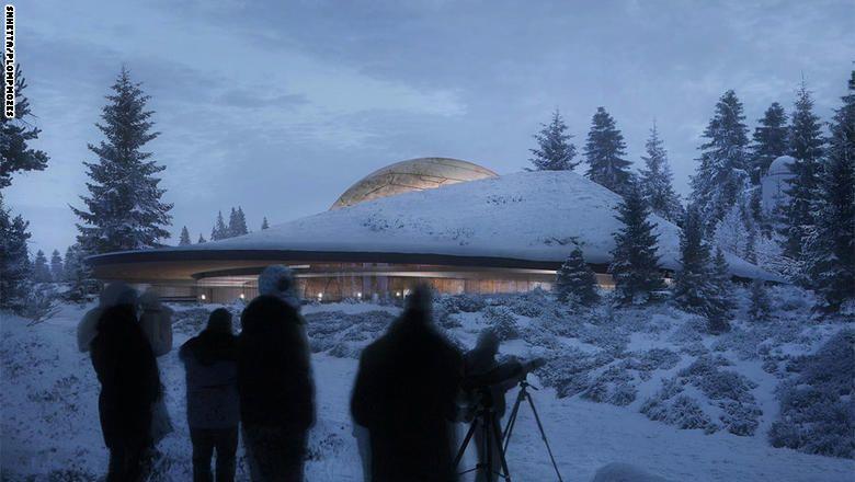 """رحلة """"مرصعة"""" بالنجوم.. في هذا """"الكوكب"""" النرويجي"""
