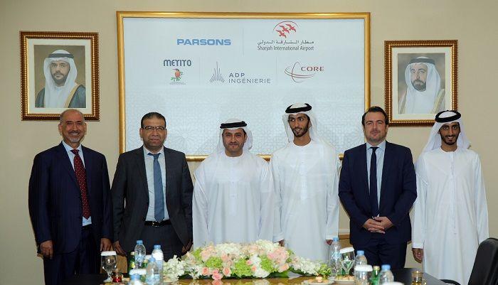مطارالشارقة الدولي يوقع 3 اتفاقيات لمشروع التوسعة بتكلفة 100 مليون درهم