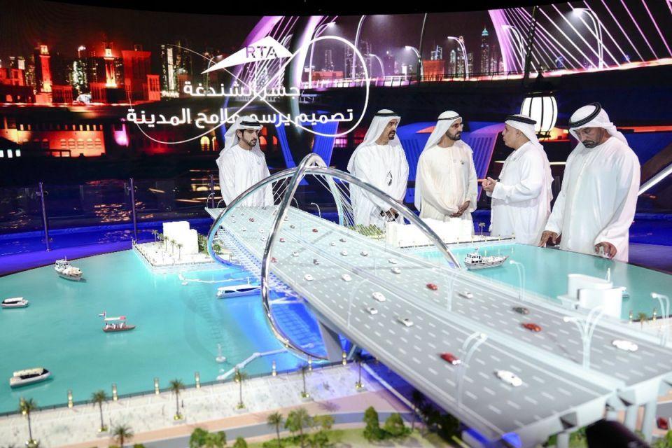 محمد بن راشد يدشن مشروع المعبر السادس على خور دبي بتكلفة 394 مليون درهم