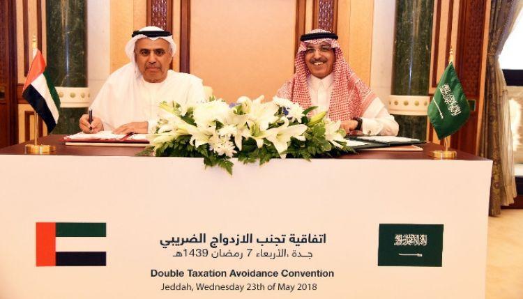 الإمارات والسعودية توقعان اتفاقية لتجنب الازدواج الضريبي