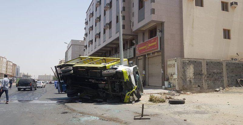 بلدي مكة يحمل هذه الجهات مسؤولية حادثة جرافة الكعكية التي تسببت بكارثة