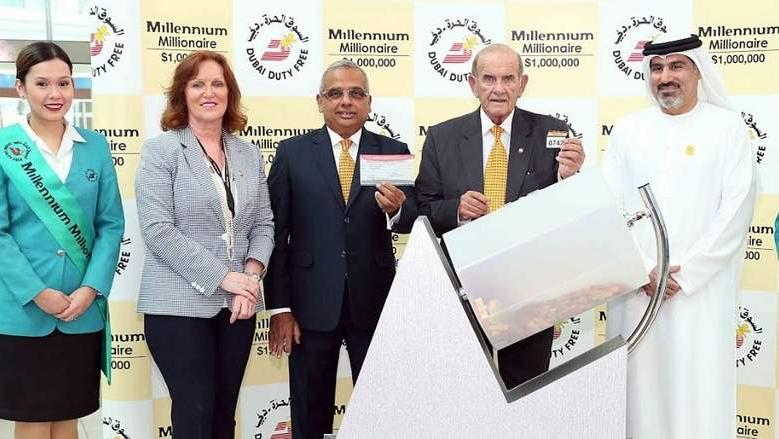 المليونير المحظوظ.. لبناني يفوز بمليون دولار للمرة الثانية في دبي