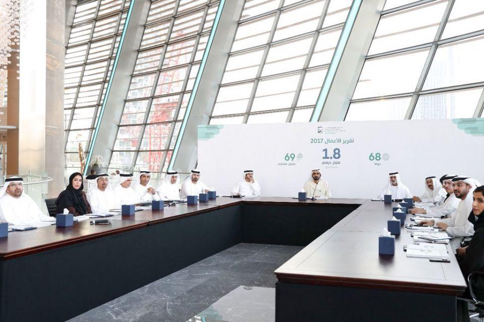 1.8 مليار درهم حجم الإنفاق لمبادرات محمد بن راشد آل مكتوم العالمية في عام واحد