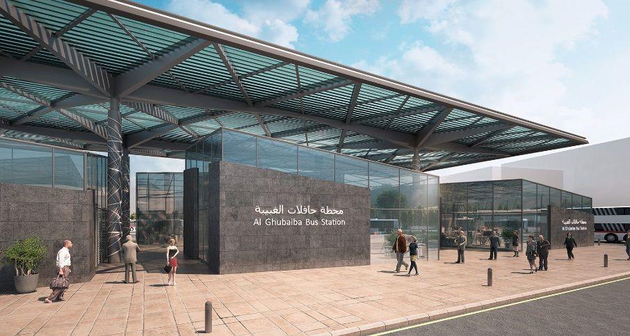 طرق دبي تعتمد التصميم النهائي لمحطات حافلات اكسبو 2020