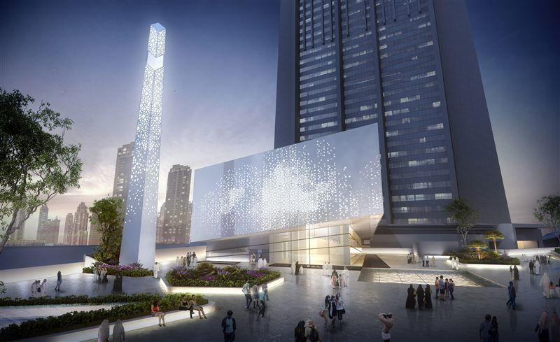 تعرف على مسجد مركز دبي المالي العالمي الكبير...فيديو
