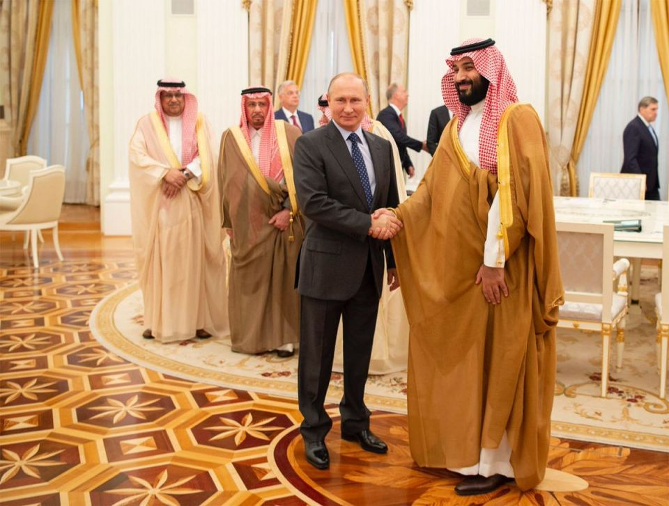 ولي العهد السعودي: المملكة تريد استمرار التعاون مع روسيا
