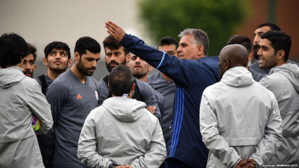 """""""نايكي"""" ترفض تزويد منتخب إيران بالأحذية في كأس العالم امتثالاً لعقوبات ترامب"""